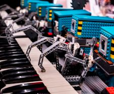 LEGO Droid Orchestra Film Shoot
